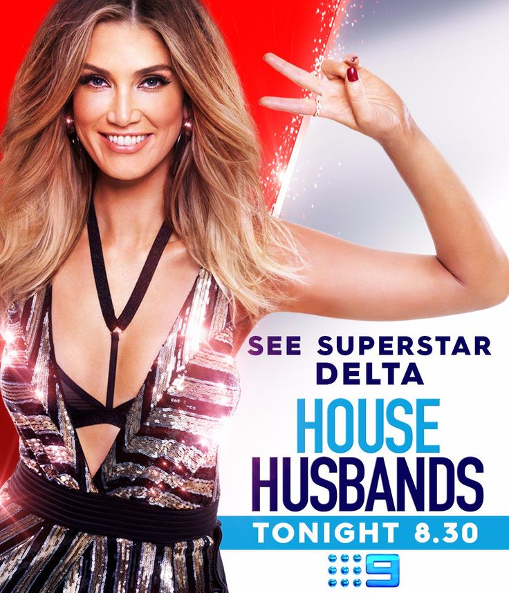 "The Voice Australia on Twitter: ""Never mind turning chairs, our very own @DeltaGoodrem is turning heads in @9HouseHusbands. Don't miss the drama, tonight on @Channel9. https://t.co/nlFoCALqDW"""