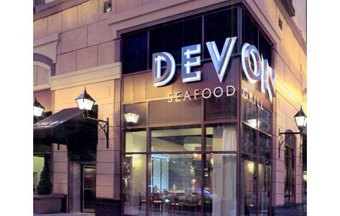 Devon Seafood Restaurant - Chicago, IL and Glendale, WI  Completed by Crown Construction