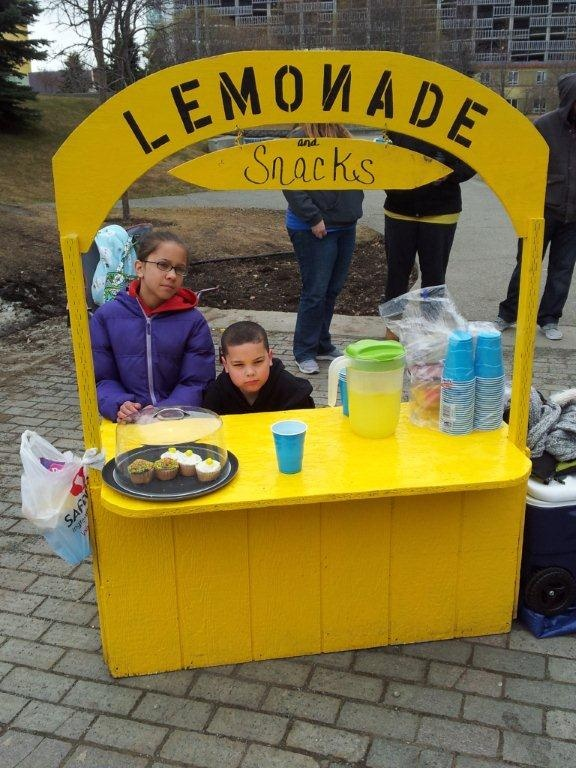 218 best images about lemonade stand on pinterest for Cool lemonade stand ideas