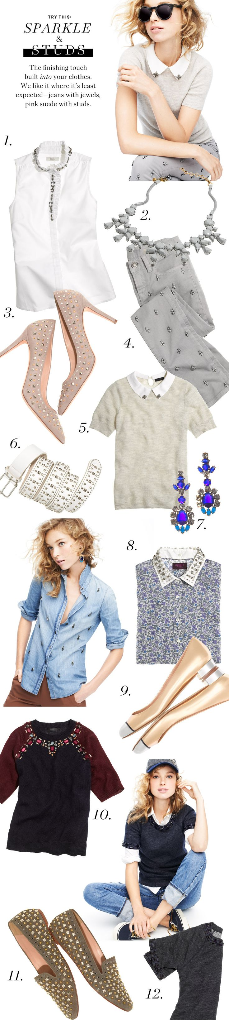 Try This: Sparkle & Studs.