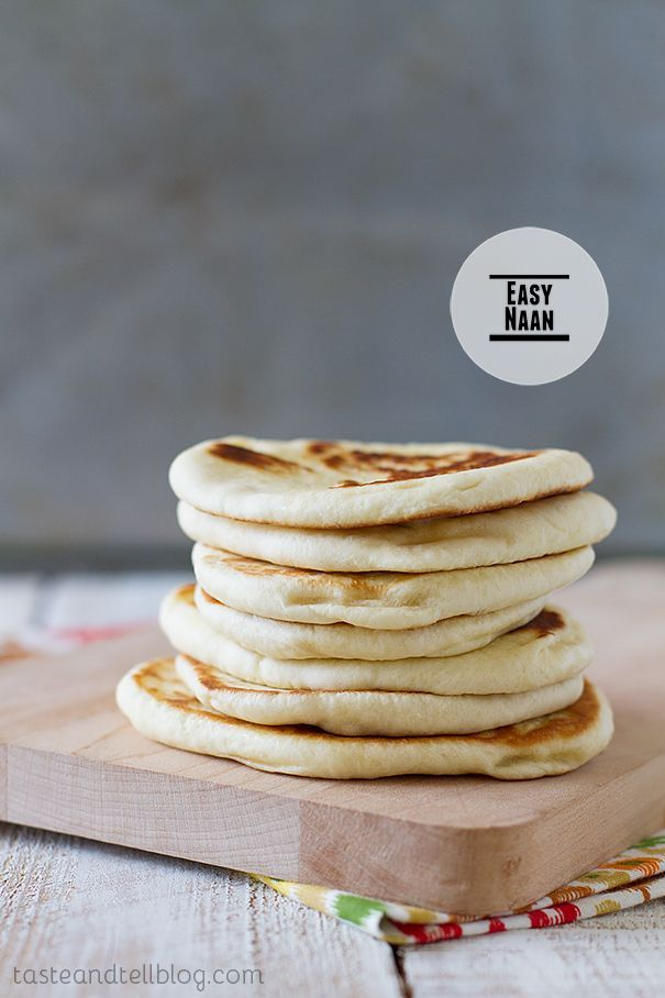 Easy Naan (a new recipe for the traditional Indian bread)