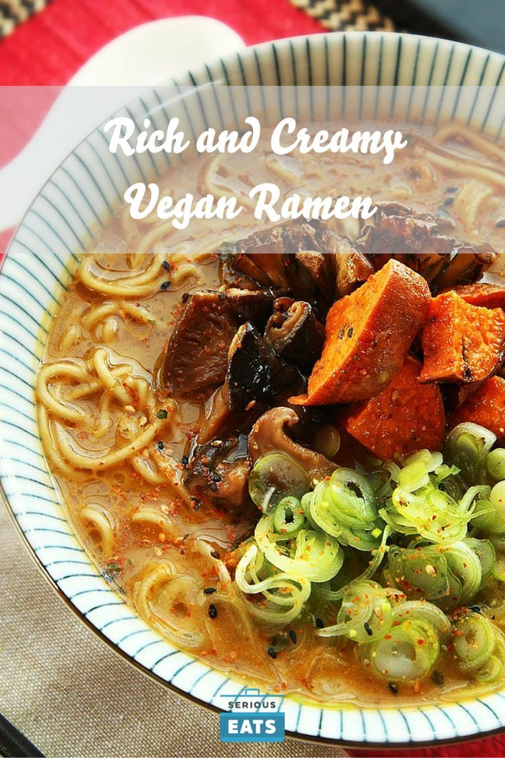 207 best vegetarian recipes images on pinterest cook desserts a vegan ramen broth that is rich and creamy with layers and layers of flavor forumfinder Gallery
