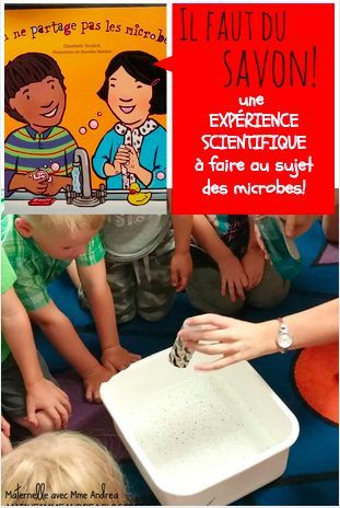 Une exprience scientifique TRS simple et effective qui dmontre aux lves l'importance du savon lorsqu'on se lave les mains!