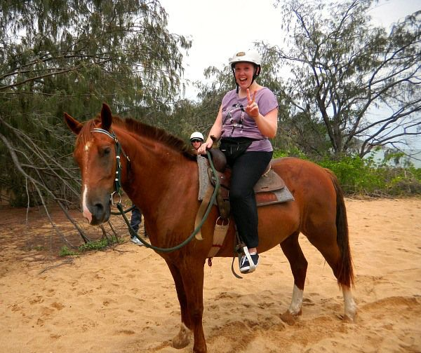Horse Riding on Magnetic Island: From Bush to Beach | Hayley on Holiday