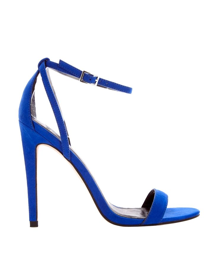 Heels by ASOS CollectionSmooth matte finishSlim pin buckle ankle strapOpen toeHigh point heelABOUT ASOS COLLECTIONDirectional, exciting and diverse, the ASOS Collection makes and breaks the fashion rules. Scouring the globe for inspiration, our London based Design Team is inspired by fashion's most covetable trends; providing you with a cutting edge wardrobe season upon season.