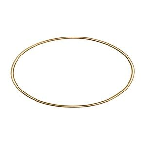 Image of OvalBangle, 14k gold