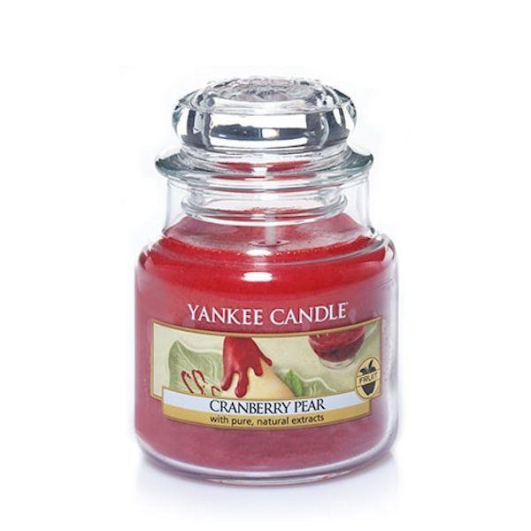 Petite Jarre - Bougie parfum Canneberge Poire / Cranberry Pear small Jar - Yankee Candle Yankee Candle : EcoDesignConcept.com votre galerie de produits naturels, ecologiques, ethiques en ligne ! Large choix d'objets ecodesign, bio