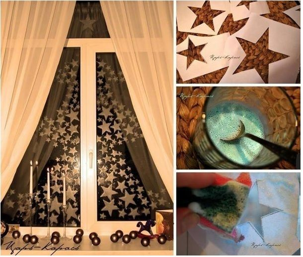 How to DIY Homemade Window Painting Recipe with Toothpaste
