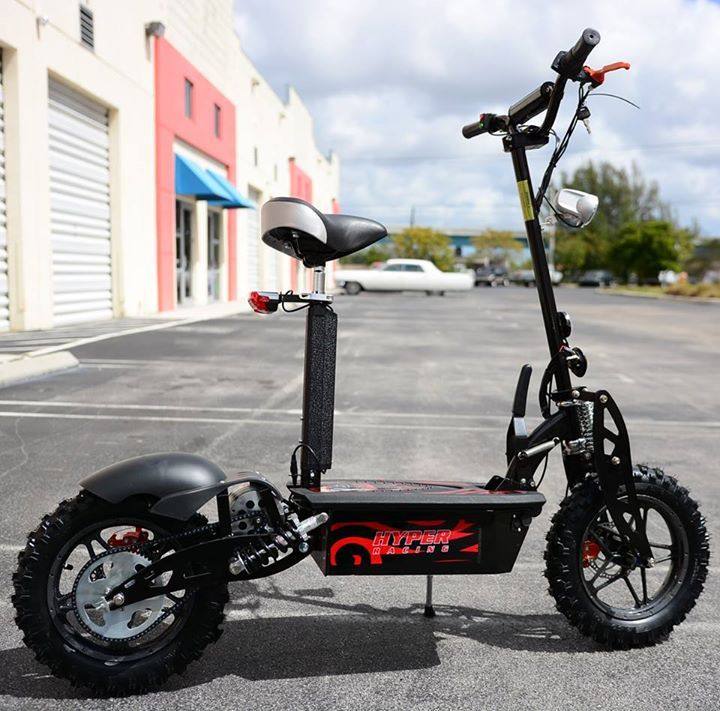 Many people in these days prefer riding on a off road scooter since they can get comfortable riding experience from this kind of scooter. So, if you also want to buy it then contact with us at hypertoyz.net.