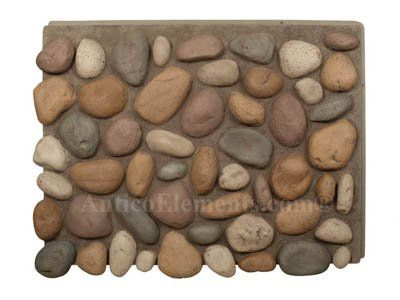 Brook River Rock - Faux Stone Panel - Sand by Antico Elements. $158.00. Perfect Faux Stone Panels to create a River Rock. Antico Elements Faux Rock Panels will add the incredibly realistic and affordable look of rocks and stones. These Stone Panels are available in different sizes and stone configurations and can be complemented with a number of accessories. Our panels are carefully hand-painted to further increase the look of natural elements.