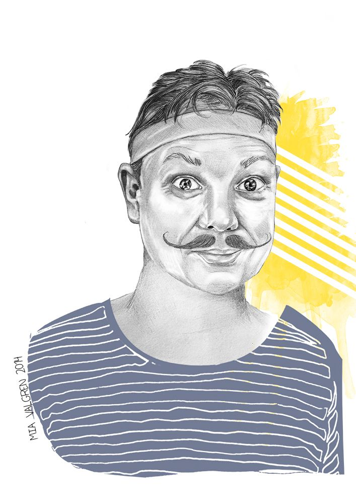 Ronan McNamara portrait for Gallery of Mo 2014