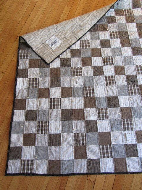 Quilt Patterns From Men S Shirts : 17 Best images about quilting on Pinterest Bento box, Easy quilts and Old men