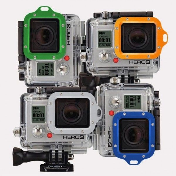 Tuff-Bevel Aluminium GoPro Lens Cover  I would like a go pro  To take photos while a run during races Please get me one
