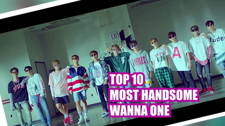 Wanna One Ranking 💗 Who Is The Most Handsome Member in Energetic MV? 💗 워...