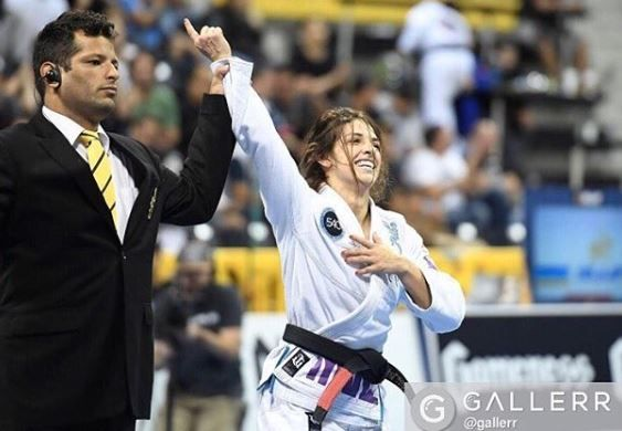 Mackenzie Dern - Intagram @mackenziedern #tbt to 2016 : second world title!