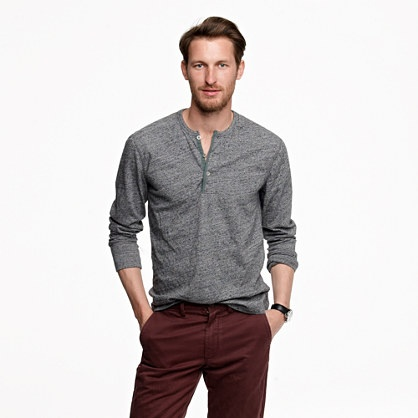 Henley Shirt Mens Fashion
