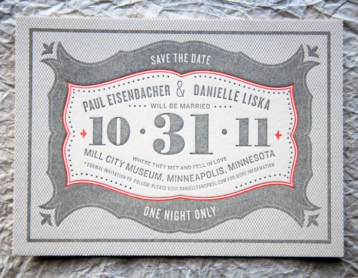 Wit-Delight-Gray-Red-Halloween-Letterpress-Wedding-Save-the-Date