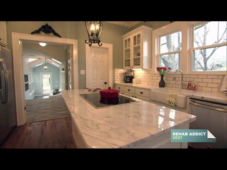 Hgtv fixer upper open concept home fixer upper for Kitchen ideas hgtv