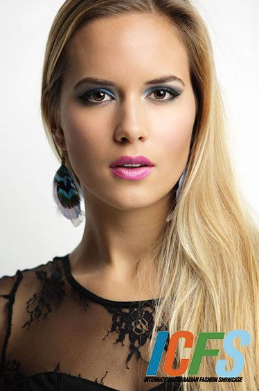 International Canadian Fashion Showcase Model Sofiya Chorniy