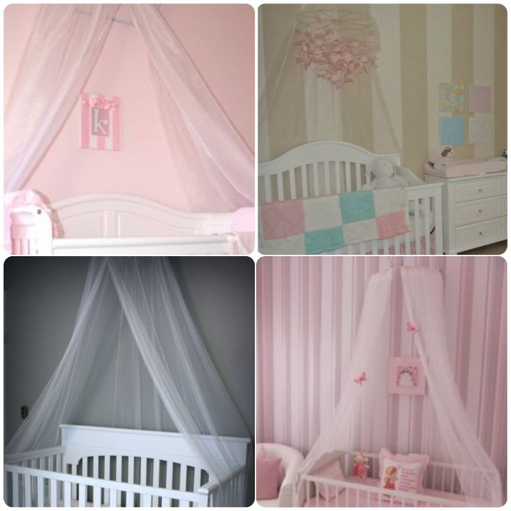 The 25 best ideas about canopy over crib on pinterest for Canopy above crib