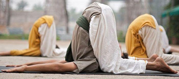 Halasana yoga posture health benefits #yogahatha