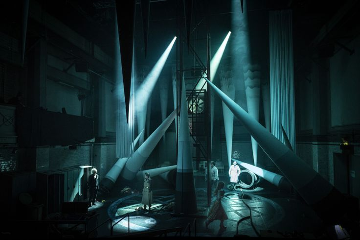 Necronomicon Unga Dramaten/Elverket Set Design: Sören Brunes
