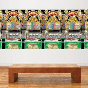 Casino speelautomaten wand decoratie