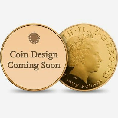 The designs range in price from £13 to £8200 for a five ounce gold coin. The coins are a great memento for royal fans to add to their collection, and they are particularly special as they've got the seal of approval from the royals themselves.