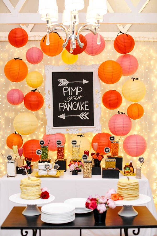 """Pimp Your Pancake"" station   Vanilla Photography"