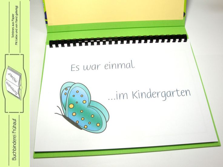 Abschiedsbuch+für+den+Kindergarten+von+Buchbinderei+Frühauf+auf+DaWanda.com