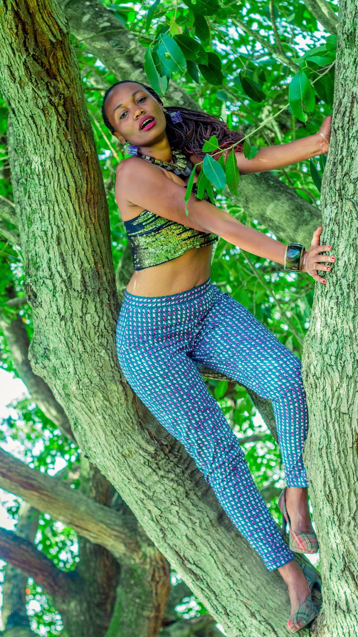 Cigarette Pant by Msichana Inc. Ethical luxury at its wildest!