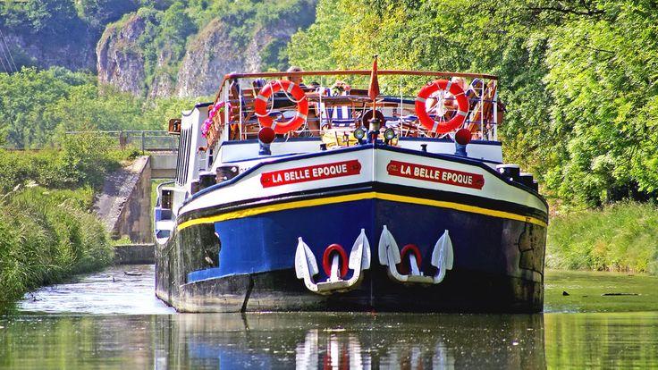 Luxury Hotel Barge Cruises with European Waterways