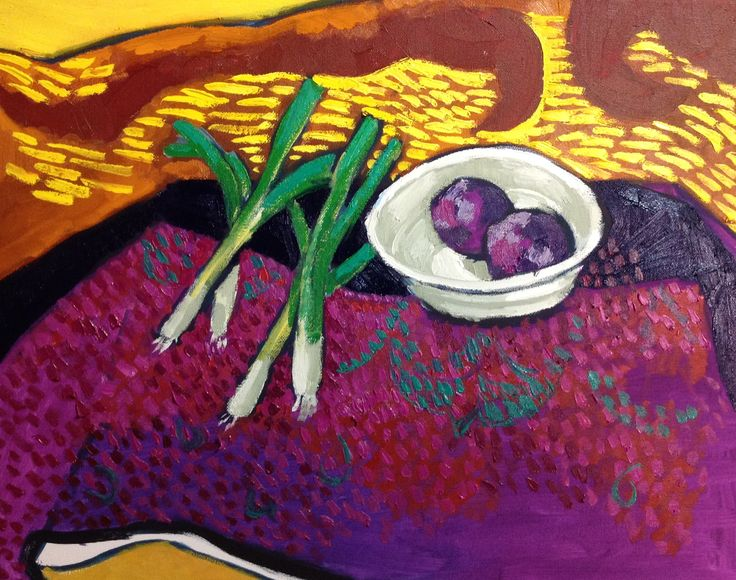 Still Life in the style of Vincent Van Gogh by Lucy Somers. Available soon on ArtTutor