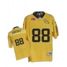Saints #88 Jeremy Shockey Gold With Super Bowl Patch Stitched NFL Jersey