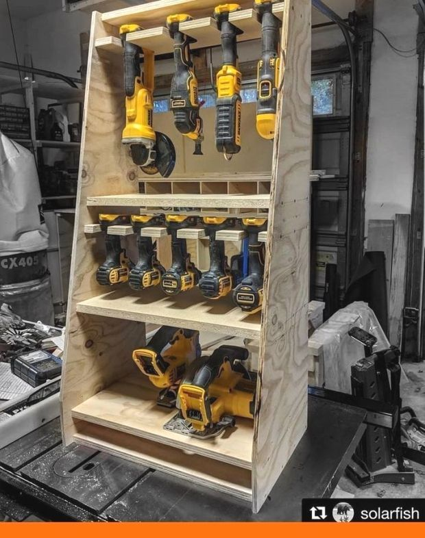 How To Organize Your Tools With Pvc Garage Storage Ideas Tool