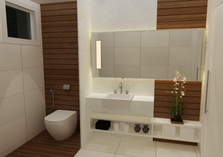banheiro porcelanato madeira  Pesquisa Google  casa ideias  Pinterest  Ma -> Banheiro Pequeno Com Ceramica De Madeira