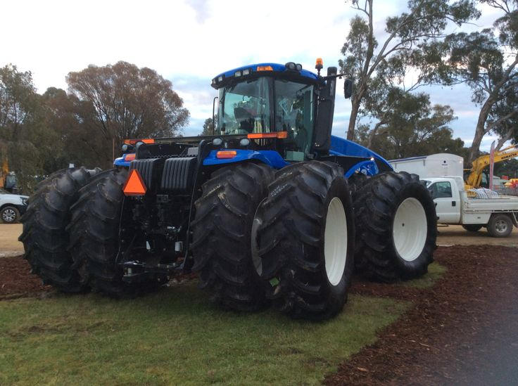 Lined up for Henty Machinery Field Days 2016 at Henty in Southern NSW, Australia.