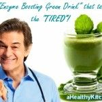 Dr Oz's Enzyme Boosting Green Drink | Vitamix Recipe