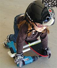 make your own drill powered skateboard - Google Search