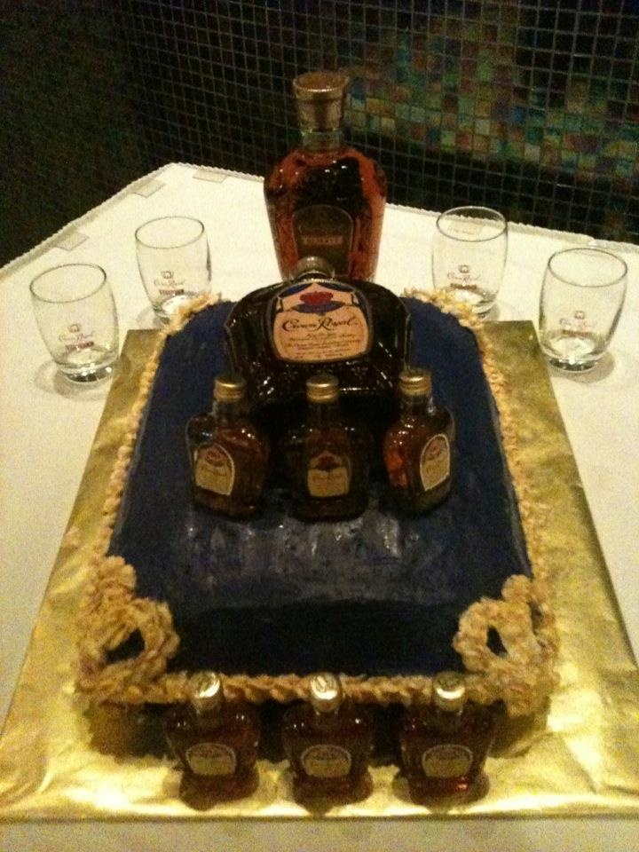 The Crown Royal Cake Food That I Make Pinterest