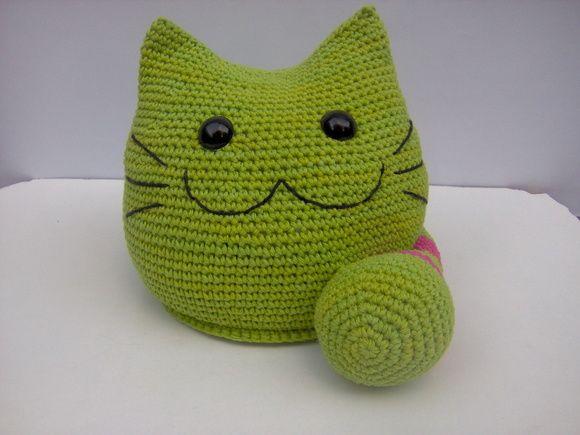 Traba puertas Amigurumi en crochet