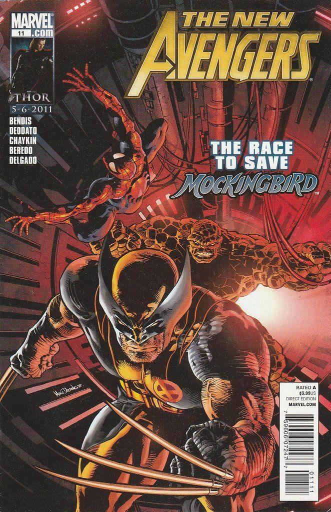 The New Avengers # 11 Marvel Comics   Vol 2