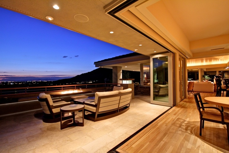 Now that's a deck with a view!
