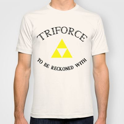 Triforce to be Reckoned With T-shirt by lapinlune - $22.00