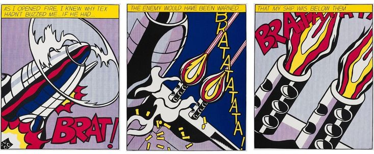 As I Opened Fire by Roy Lichtenstein on artnet Auctions