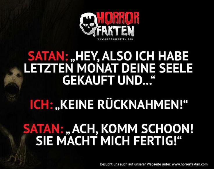 Keine Reklamationen! #horrorfakten