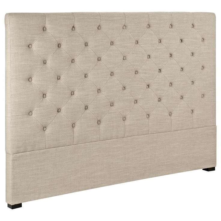 Atelier - Tufted headboard - Queen/BEDS & HEADBOARDS/SHOP BY PRODUCT/ATELIER BOUCLAIR|Bouclair.com