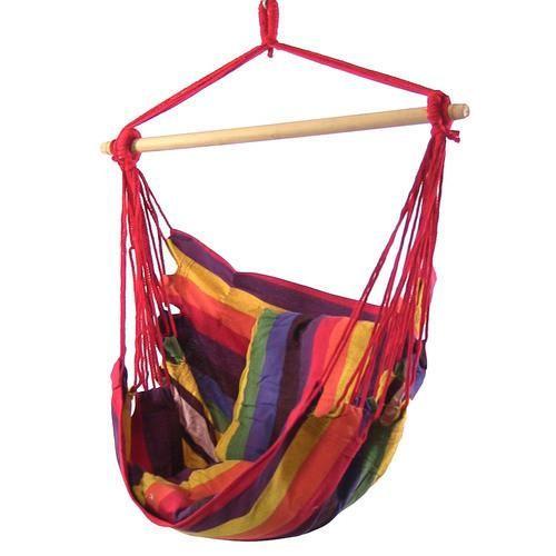 Hanging Hammock Swing by Sunnydaze Decor - Sunset