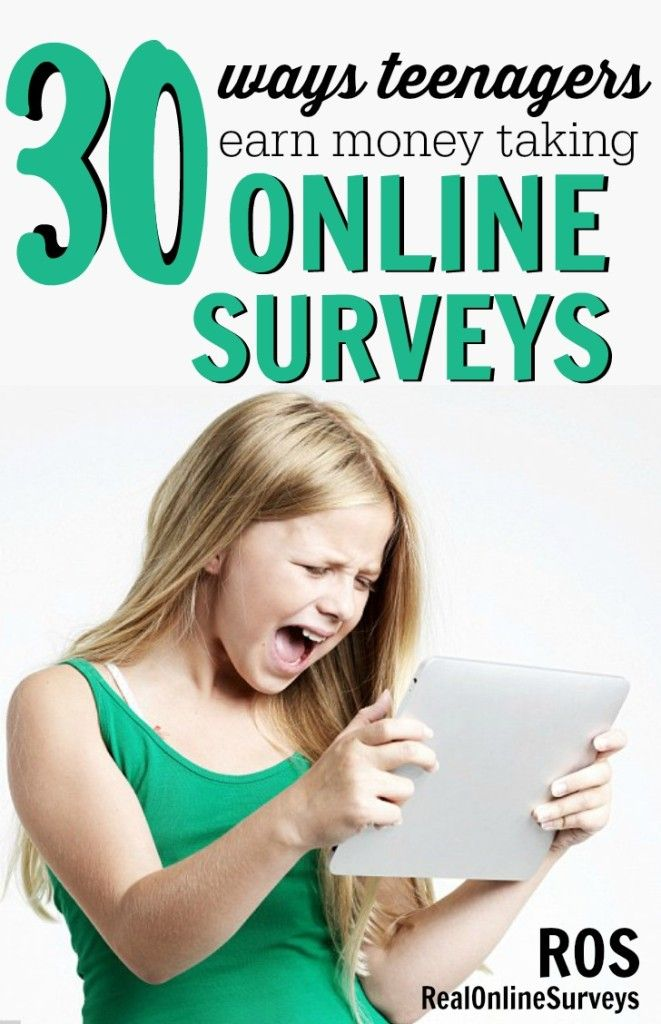 making money from surveys 30 ways teenagers earn money with online surveys make 7292