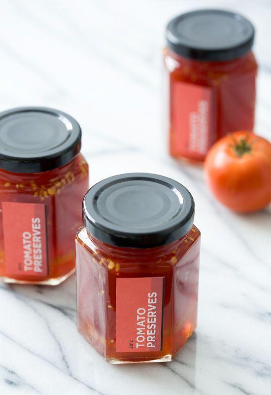 Tomato Preserves - Yummy!!